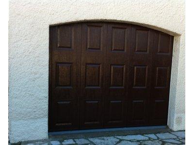 Porte de garage sectionnelle sur mesure devis pose prix for Poseur de porte de garage sectionnelle